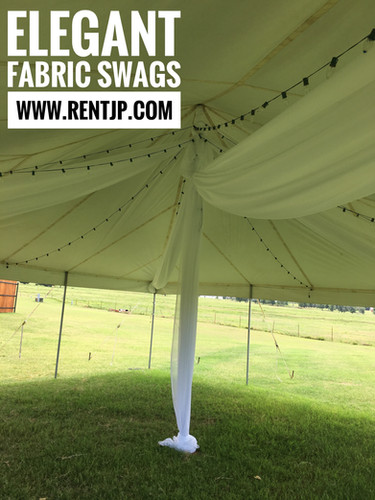 Fabric Swags