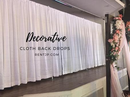 Cloth Back Drops
