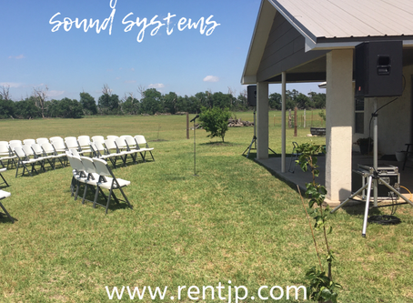 Wedding Chairs and Sound Systems