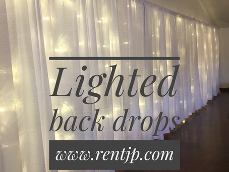 Lighted Back Drops