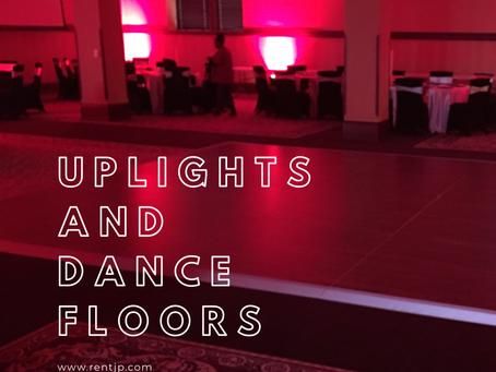 Uplights And Dance Floors