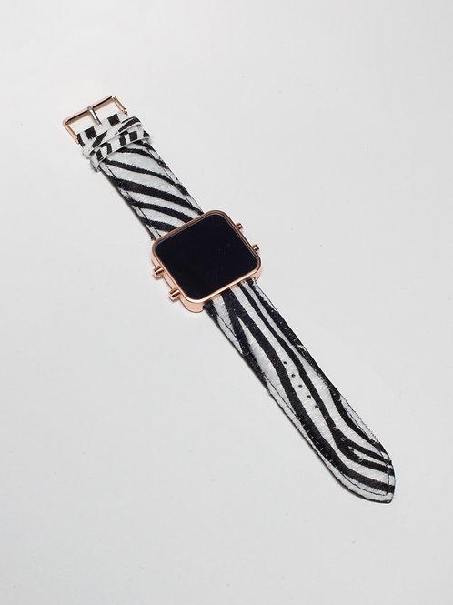 Zebra/Zèbre - Mat Rose Gold (Ref:RG/ZR)