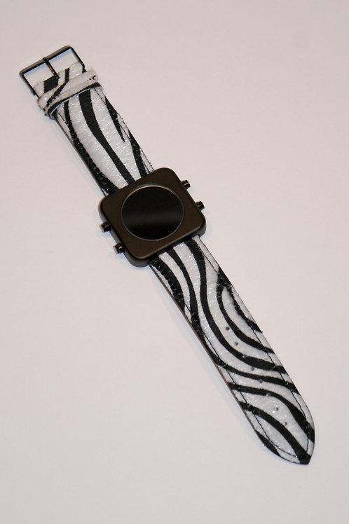 New Circa black mat case/Zebra-boîtier noir mat/Zèbre(REF:CB/Z)