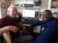 Hugo Jachmann & Christian Mbina Gabon NE