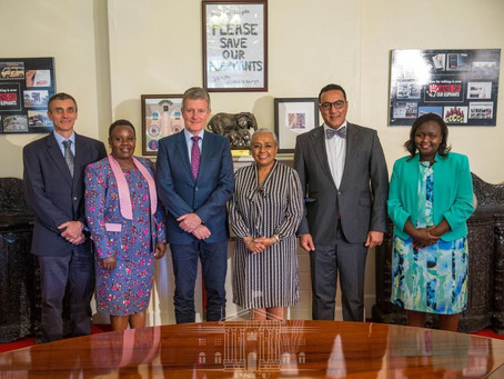 The First Lady of Kenya Joins the EPI Leadership Council
