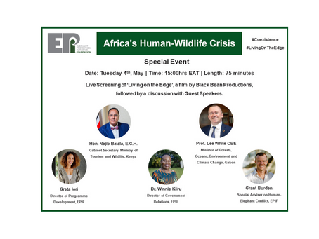 Watch Our Special Event on Africa's Human-Wildlife Crisis