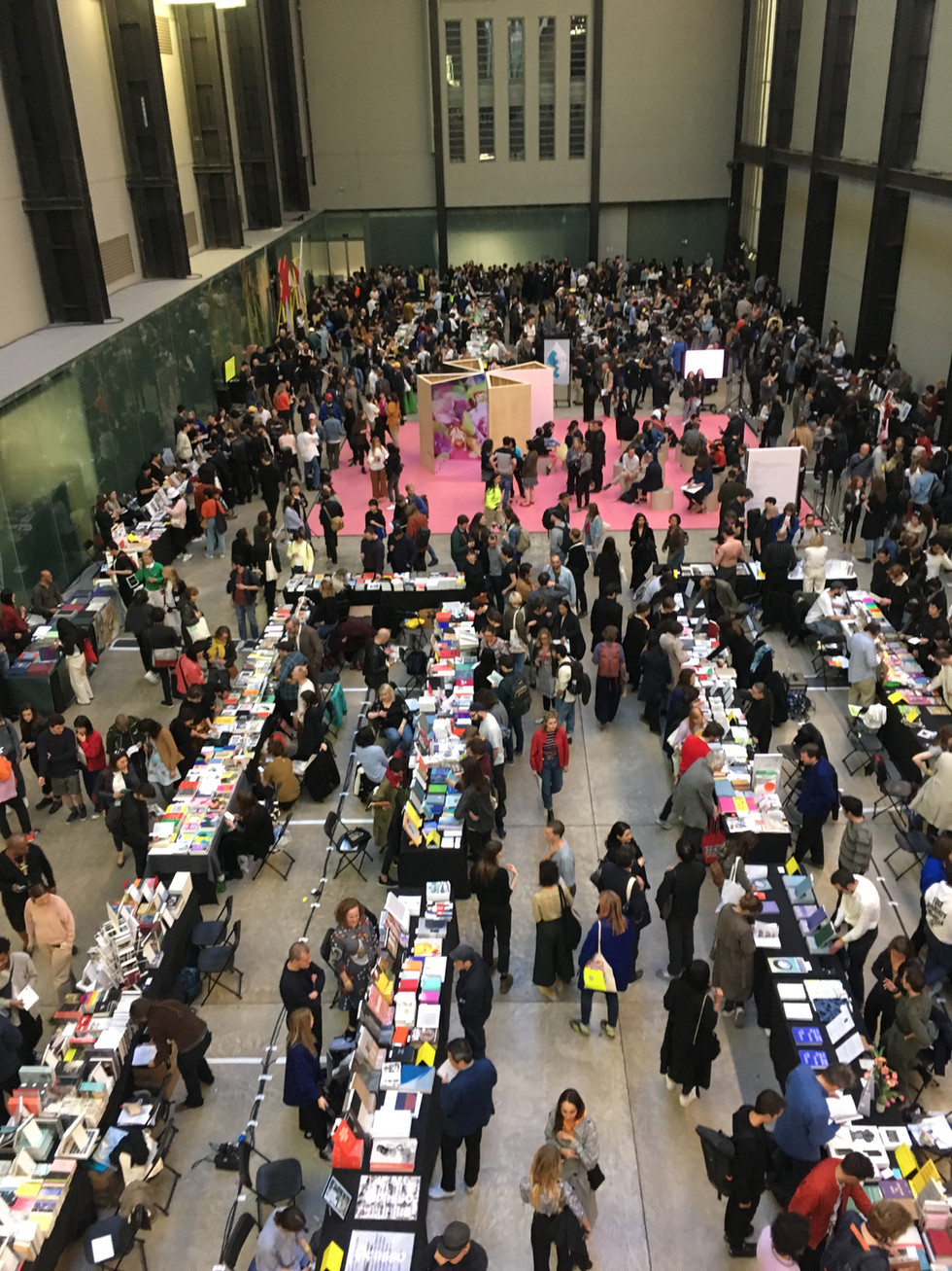 2018 Offprint London, Tate Modern