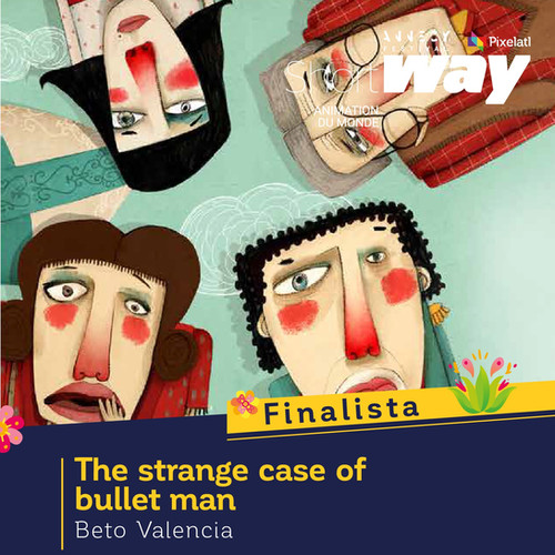 The strange case of bullet man