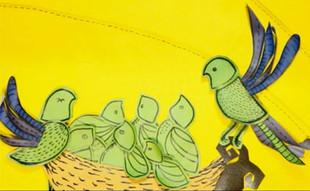 Sandalias de cuero + Folclore brasileño = ¿Animación?