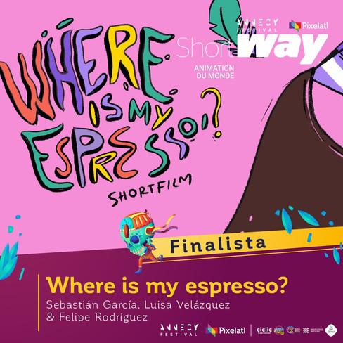 Where is my espresso?