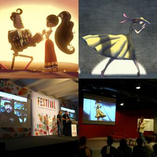 ¡Dos largometrajes animados relacionados con el Festival Cuerna están en la carrera por el Oscar!