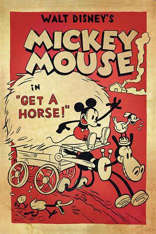 """""""Get a horse"""". El regreso de Mickey Mouse"""