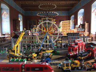 Visite virtuelle d'une expo de LEGO!
