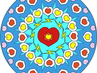 Des Mandalas à colorier!