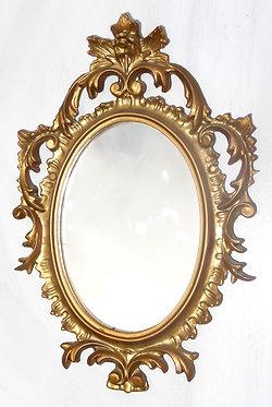 Miroir baroque miniature