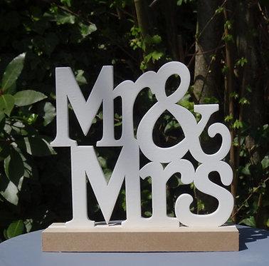 Mr & Mrs à poser