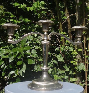 Chandelier argenté 3 branches