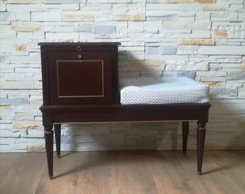 meuble t l phone vintage. Black Bedroom Furniture Sets. Home Design Ideas