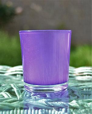 Photophore cylindrique violet
