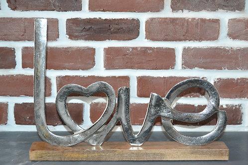 Love métal et bois