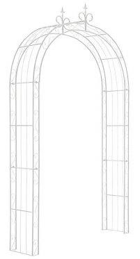 Arche en métal blanc