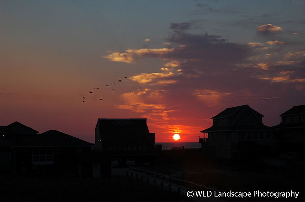 Nags Head, North Carolina, Sunset