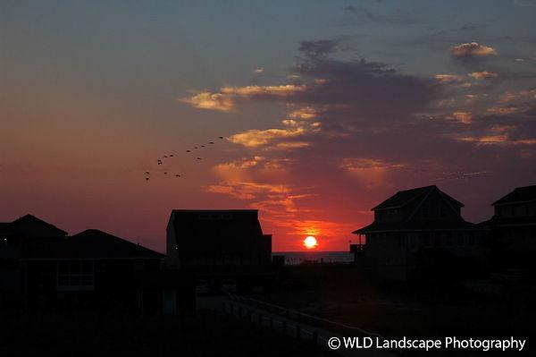 Nags Head, North Carolina, Sunset