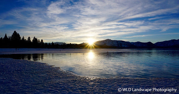 South Lake Tahoe, Sunset, Winter, Photographer, Landscape Photo