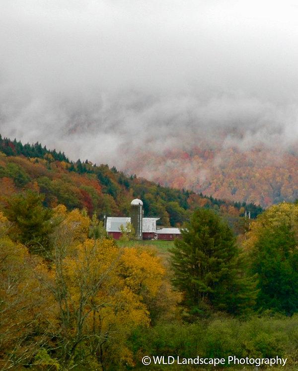 Farm, Barn, Photography, Photo, Photographer, Landscape, Mountain, New York, Autumn, Fall, Nature, Seasons
