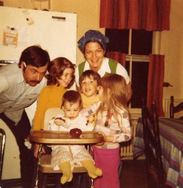 The Pennoyer Family Pre-Maggie, circa 1976