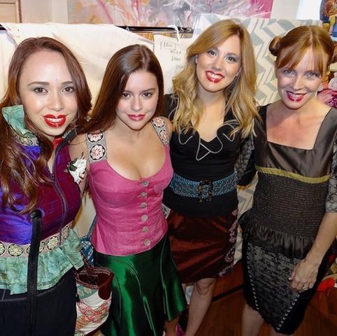 Models and Women Who Inspire Mia Lin, Grace Dower, Sarah Edwards, Caryn Antonini