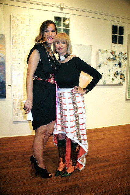 Sheri West and Hadley Pollet; photo credit: Norm Jensen /Jensen Design