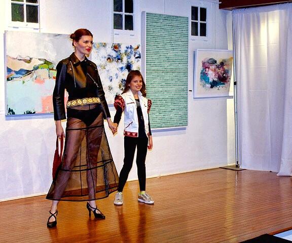 Kremena and Lorrina Doust; photo credit Norm Jensen/Jensen Design
