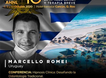 Congreso Internacional Hipnosis Clínica  AHNL.Cancún,México.