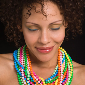 Colored Necklaces: Brittany