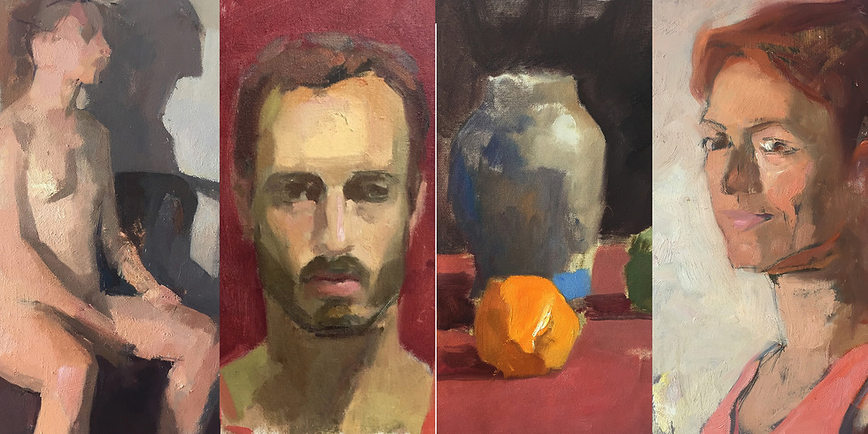 Exhibition of Painting Demos by Ilya Gefter