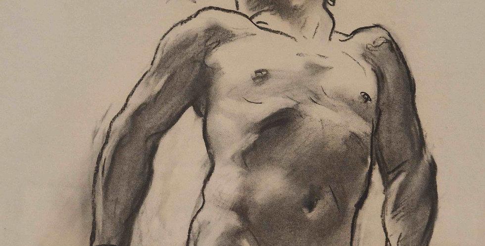 GO FIGURE: סדנת רישום וציור מודל בהנחיית איליה גפטר