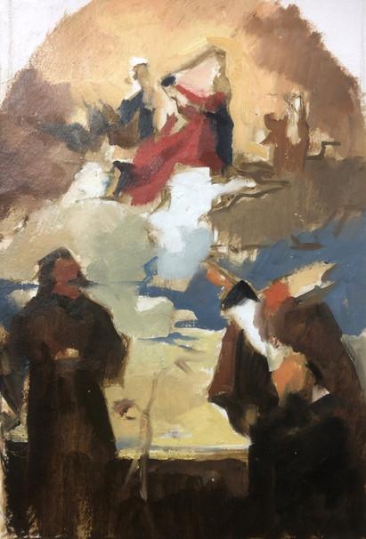 Saints - after Titian