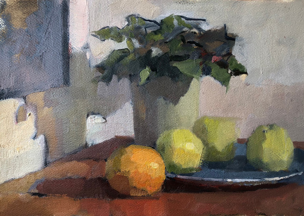 Still Life with a Plant
