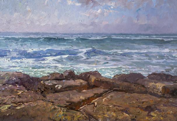 Sea on the Rocks