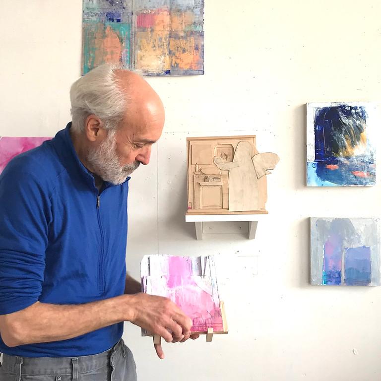 אמנות מבפנים: סטיוארט שילס מדבר על עבודותיו