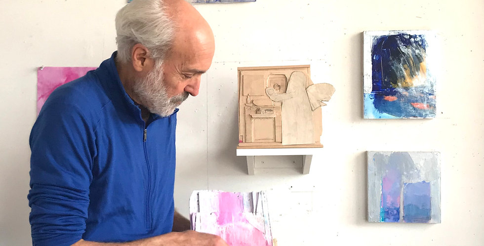 THE INTERIORITY OF OBSERVATION: Studio Workshop with Stuart Shils
