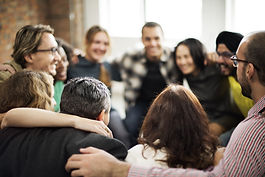 Team Huddle Harmony Togetherness Happine