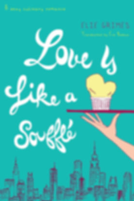 Book cover 6 x 9 Love is like a souffle-