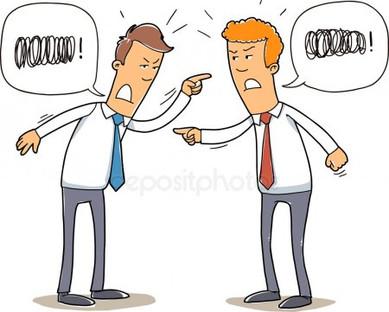 Чтобы договориться надо сначала побить друг друга