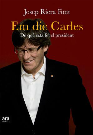 """Josep Riera 28/4/16 Presentació del llibre """"Em dic Carles"""""""