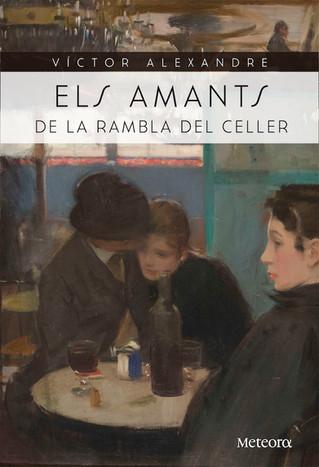 """Víctor Alexandre 24/11/17 presentació del llibre """"Els amants de la rambla del Celler"""""""