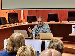 """Pere Jané 25/10/19 conferència """"Gihadisme / Estat Islàmic. Geopolítica del caos"""""""