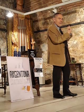 """Alfons Durán-Pich 5/4/19 Presentació del llibre """"L'oligarca camuflat"""""""