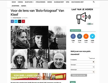 Bolo-fotograaf Vincent van Kleef